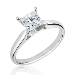 REEDS Jewelers Exclusive Roberta Z Ideal Solitaire Enagement Ring with GSI Grading Report 1ct