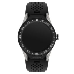 TAG Heuer Connected Modular 45 Watch - Black Rubber Strap