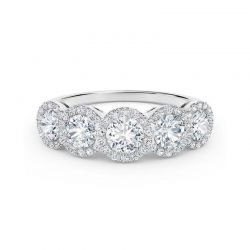 The Forevermark Tribute Collection White Gold Diamond Wedding Band 1ctw