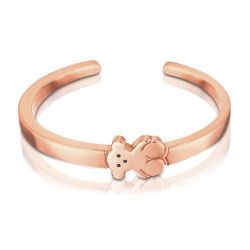 TOUS Bear Rose Gold-Plated Cuff Bracelet