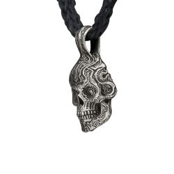 William Henry P6 Skull Pendant