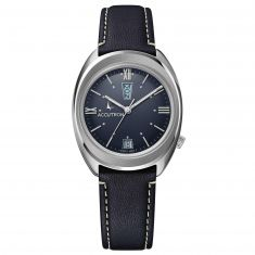 Accutron Legacy Automatic Blue Leather Strap Limited Edition Watch 2SW6C001