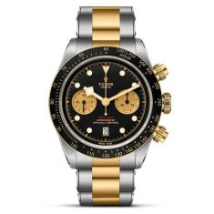 Black Bay Chrono S&G Stainless Steel Watch M79363N-0001