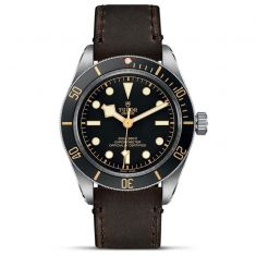 Black Bay Fifty-Eight Brown Leather Strap Watch M79030N-0002