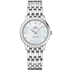 Previously Owned Ladies' OMEGA De Ville Prestige Mother-of-Pearl Dial Watch O42410276005001