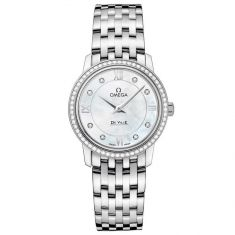 Previously Owned Ladies' OMEGA De Ville Prestige Quartz Watch O42415276055001
