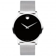Previously Owned Men's Movado Museum Classic Stainless Steel Watch 0607219