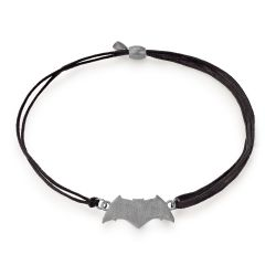 Alex and Ani Batman Pull Cord Bracelet