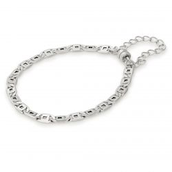 Alex and Ani Chain Link Magnetic Bracelet - Rafaelian Silver Finish