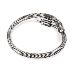 Alex and Ani Drift Wrap - Rafaelian Silver Finish