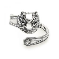Alex and Ani Fortune's Favor Spoon Ring - Sterling Silver
