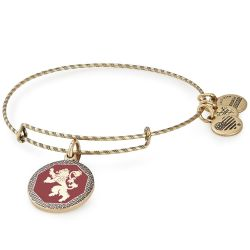 Alex and Ani GAME OF THRONES Hear Me Roar Charm Bangle Bracelet - Rafaelian Gold Finish