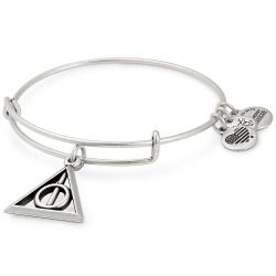 Alex and Ani Harry Potter Deathly Hallows Charm Bangle - Rafaelian Silver Finish