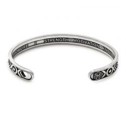 Alex and Ani PATH OF LIFE Cuff - Rafaelian Silver Finish