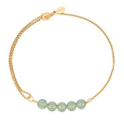 Alex and Ani Sprout Expandable Bracelet - Gold Plated