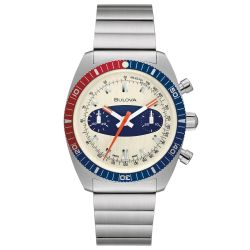 Bulova Archive Series Limited Edition Chronograph A Surfboard Automatic Watch 98A251