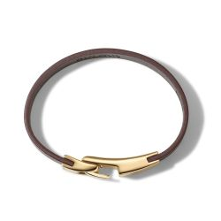 Bulova Classic Brown Leather Bracelet