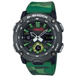 Casio G-Shock X Gorillaz Carbon Core Guard Camouflage Limited Edition Watch GA2000GZ-3A