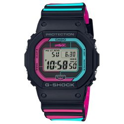 Casio G-Shock X Gorillaz Connected Pink and Blue Limited Edition Watch GWB5600GZ-1
