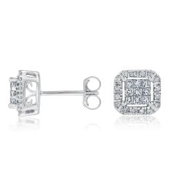 Diamond Earrings 1/3ctw