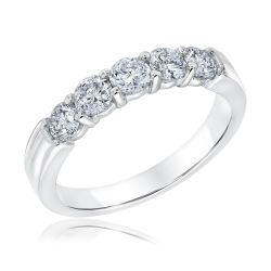 Ellaura Embrace Diamond Anniversary Ring 1ctw