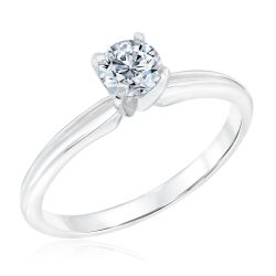 Exclusive REEDS ECONIC Lab Grown Diamond Solitaire Engagement Ring 1/2ct