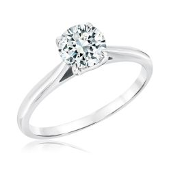 Exclusive REEDS Signature Round Diamond Solitaire Engagement Ring 1ct
