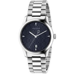 Gucci G-Timeless Blue Dial Stainless Steel Watch YA1264025A