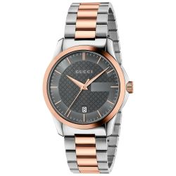 Gucci G-Timeless Two-Tone Stainless Steel Watch YA126446