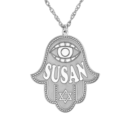 Alison and Ivy Hamsa Pendant 27x30mm