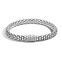 John Hardy Dot Chain Bracelet in Sterling Silver