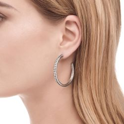John Hardy Medium Dot Hoop Earrings