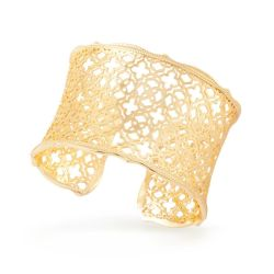 Kendra Scott Candice Cuff Bracelet in Gold Plated