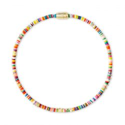 Kendra Scott Reece Beaded Wrap Bracelet in Bright Mix, Gold-Plated
