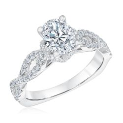 Kleinfeld Fine Jewelry Barrow Engagement Ring 2ctw