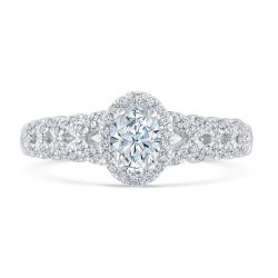 Kleinfeld Fine Jewelry Biltmore Engagement Ring 3/4ctw