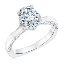 Kleinfeld Fine Jewelry Bowery Solitaire Engagement Ring 1 1/2ctw