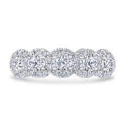 Kleinfeld Fine Jewelry Chelsea Anniversary Band 1 1/4ctw