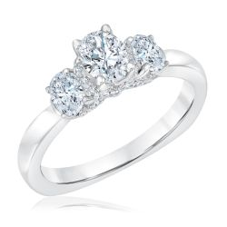 Kleinfeld Fine Jewelry Clayton Engagement Ring 1ctw