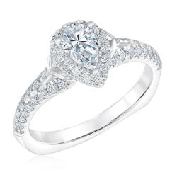 Kleinfeld Fine Jewelry Decker Engagement Ring 1ctw