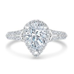 Kleinfeld Fine Jewelry Decker Engagement Ring 2ctw