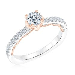 Kleinfeld Fine Jewelry Gotham Engagement Ring 3/4ctw
