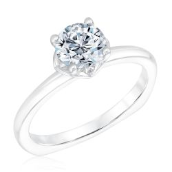 Kleinfeld Fine Jewelry Grand Solitaire Engagement Ring 1ctw