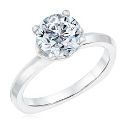 Kleinfeld Fine Jewelry Grand Solitaire Engagement Ring 2ctw