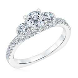 Kleinfeld Fine Jewelry Hudson Engagement Ring 1 3/8ctw
