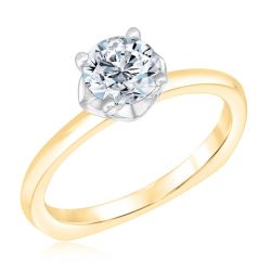 Kleinfeld Fine Jewelry Park Solitaire Engagement Ring 1ctw