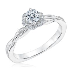 Kleinfeld Fine Jewelry Whitehall Engagement Ring 1/2ctw