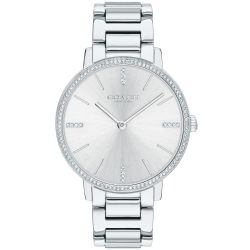 Ladies' COACH Audrey Stainless Steel Crystal Accent Watch 14503353