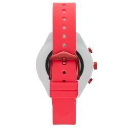 Ladies' Fossil Sport Smartwatch in Red Silicone FTW6027