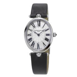 Ladies' Frederique Constant Classics Art Deco Satin Strap Watch FC-200MPW2V6